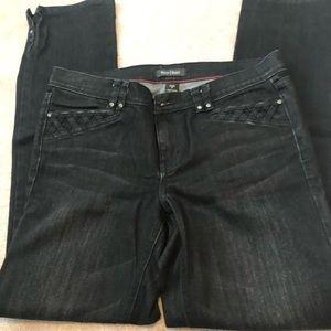 White House Black Market black jeans size 8